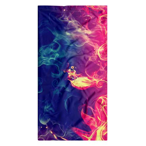 Бандана-труба 3D  Фото 07, Цветок в огне 2