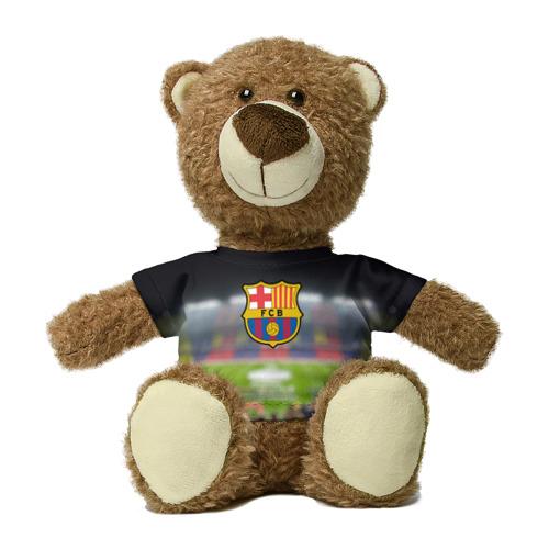 Миша в футболке 3D Camp Nou