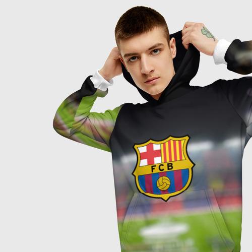 Мужская толстовка 3D Camp Nou