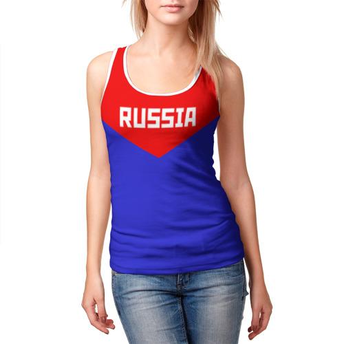 Женская майка 3D  Фото 03, Russia