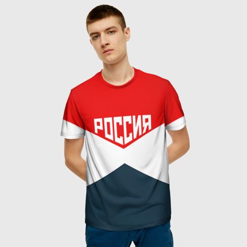 Мужская футболка 3D Форма Фото 01