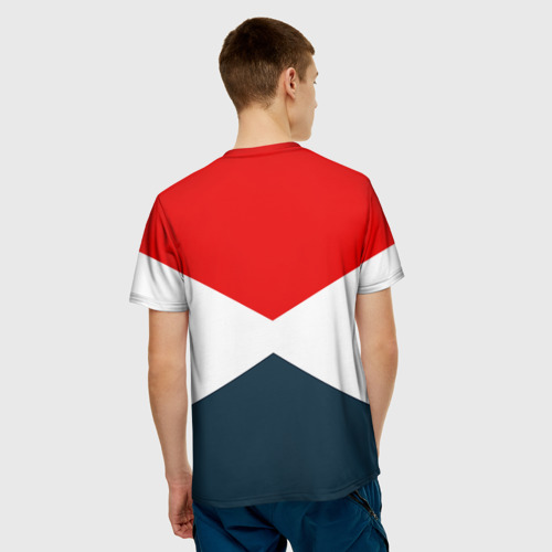 Мужская футболка 3D 'Форма'