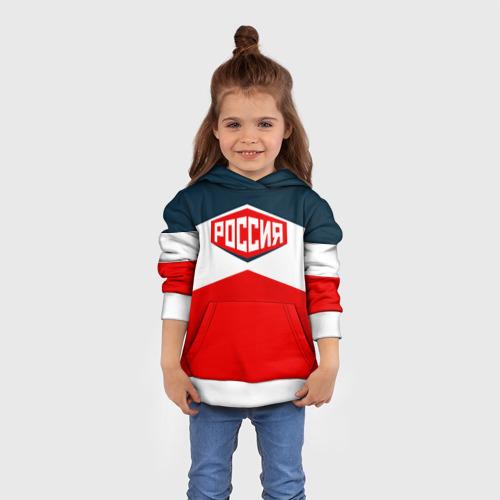 Детская толстовка 3D Россия СССР