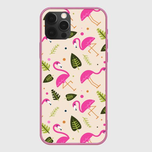 Чехол для iPhone 12 Pro Фламинго Фото 01