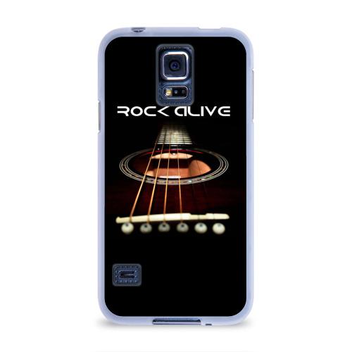 Чехол для Samsung Galaxy S5 силиконовый  Фото 01, ROCK ALIVE