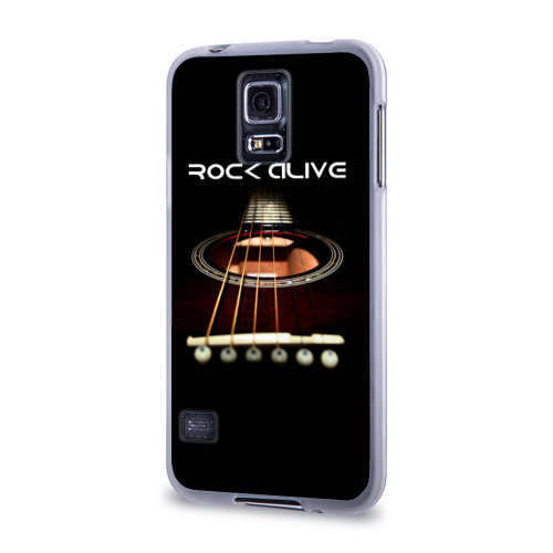 Чехол для Samsung Galaxy S5 силиконовый  Фото 03, ROCK ALIVE