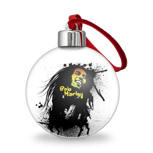 Ёлочный шар  Фото 01, Bob Marley