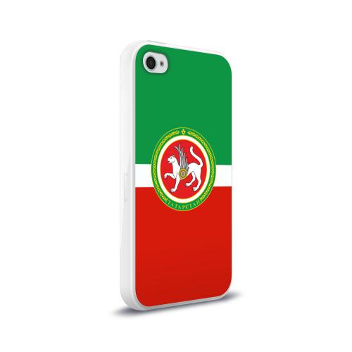 Чехол для Apple iPhone 4/4S силиконовый глянцевый Татарстан Фото 01