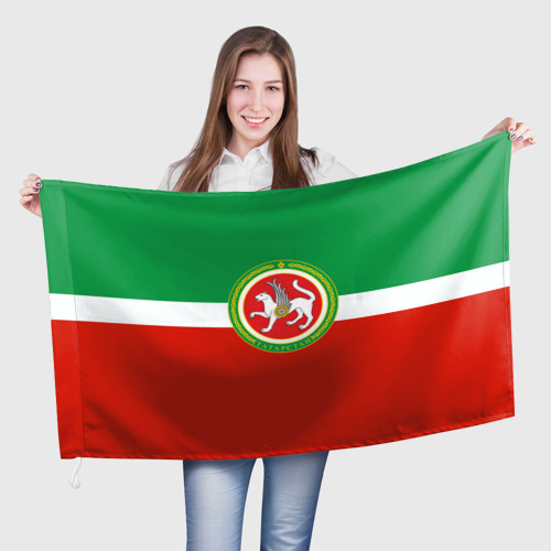 Флаг 3D Татарстан Фото 01