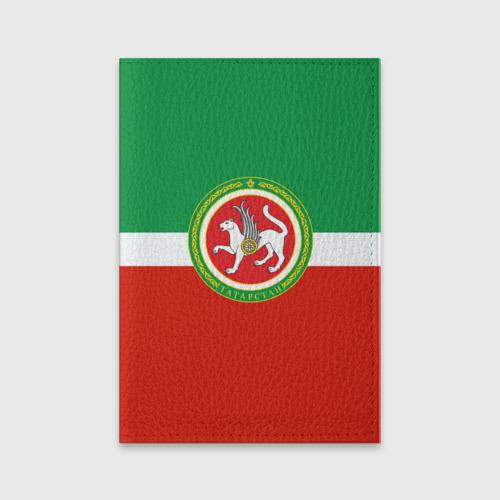 Обложка для паспорта матовая кожа Татарстан Фото 01