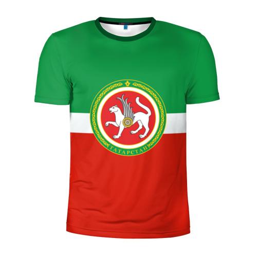 Мужская футболка 3D спортивная Татарстан