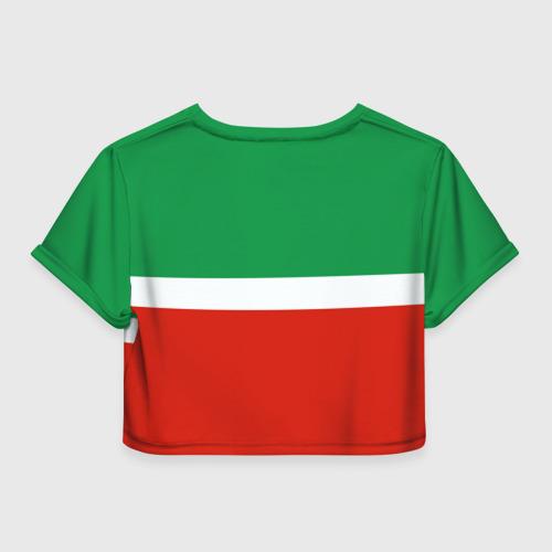 Женская футболка 3D укороченная  Фото 02, Татарстан