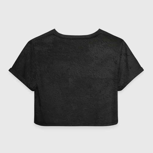 Женская футболка 3D укороченная  Фото 02, ACM