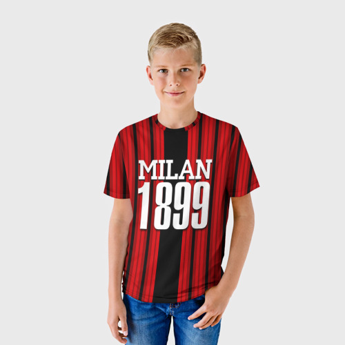 Детская футболка 3D  Фото 01, Милан 1899