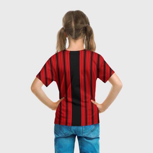 Детская футболка 3D  Фото 04, Милан 1899