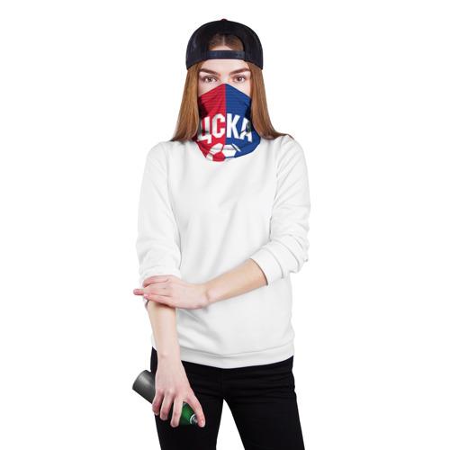 Бандана-труба 3D  Фото 02, ЦСКА