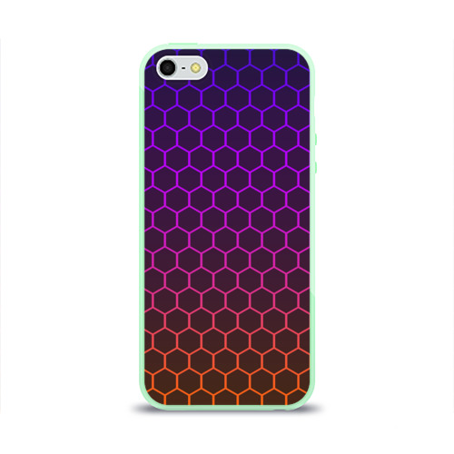 Чехол для Apple iPhone 5/5S силиконовый глянцевый Electric hive cs go Фото 01