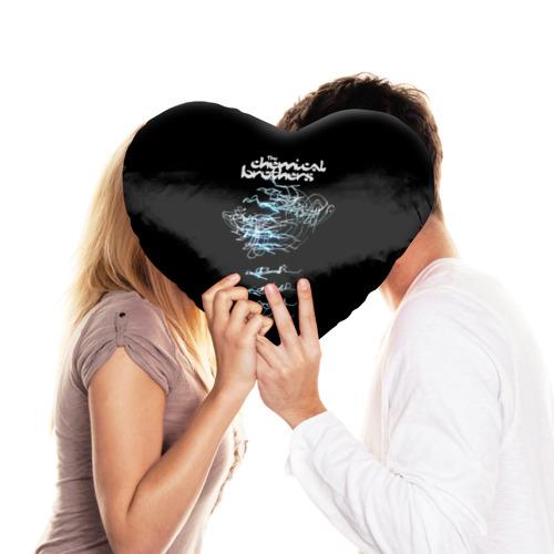 Подушка 3D сердце  Фото 03, Chemical Brothers