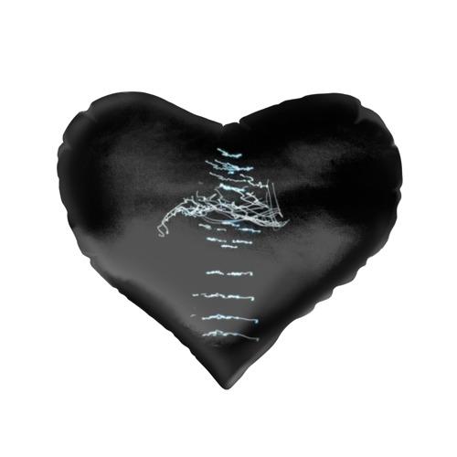 Подушка 3D сердце  Фото 02, Chemical Brothers