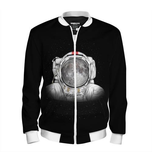 Мужской бомбер 3D  Фото 01, Космонавт 1