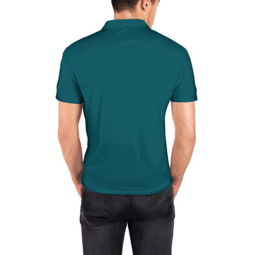 Мужская рубашка поло 3D  Фото 04, Космонавт 6