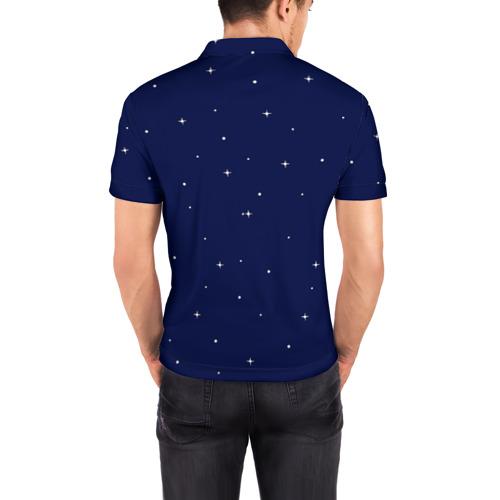 Мужская рубашка поло 3D  Фото 04, Космонавт 10