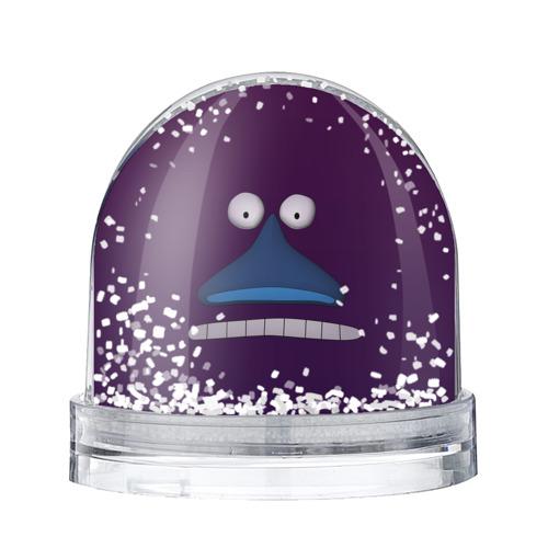 Водяной шар со снегом Лицо Моры