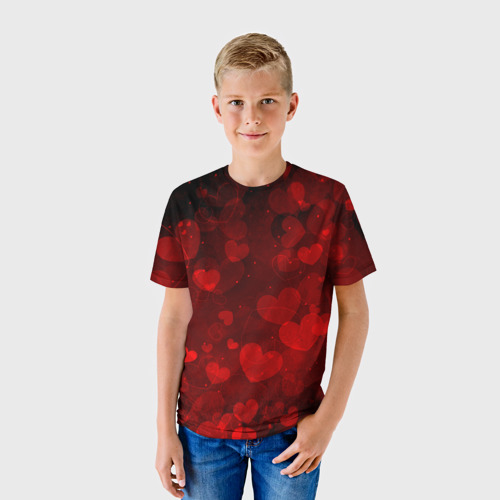 Детская футболка 3D Сердечко