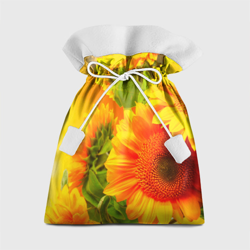 Подарочный 3D мешок Подсолнух