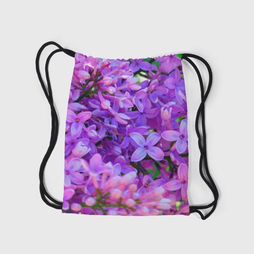 Рюкзак-мешок 3D Сирень Фото 01
