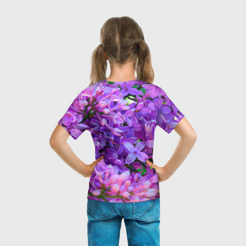 Детская футболка 3D Сирень Фото 01