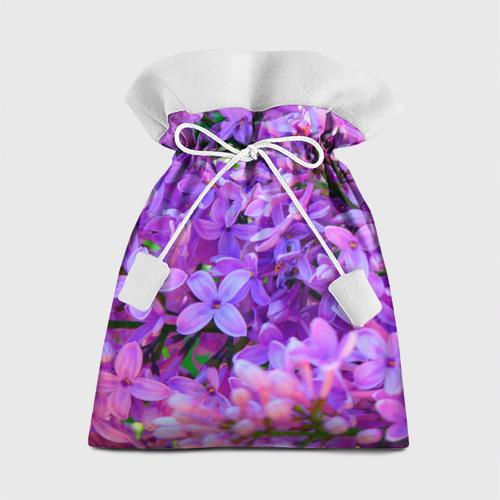 Подарочный 3D мешок Сирень Фото 01
