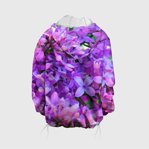Детская куртка 3D Сирень Фото 01