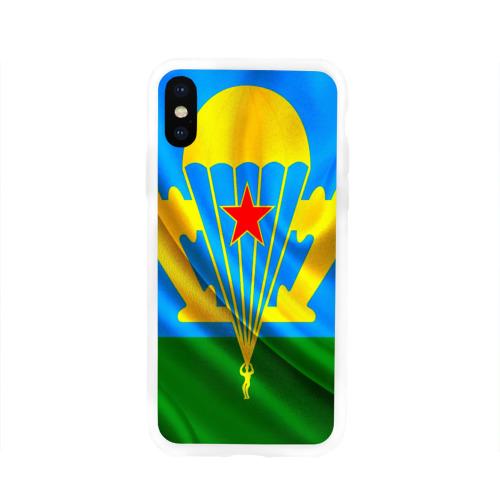 Чехол для Apple iPhone X силиконовый глянцевый  Фото 01, ВДВ