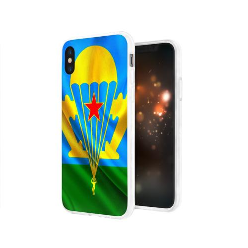 Чехол для Apple iPhone X силиконовый глянцевый  Фото 03, ВДВ