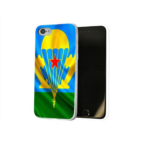 Чехол для Apple iPhone 8 силиконовый глянцевый  Фото 02, ВДВ