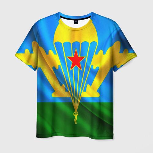 Мужская футболка 3D  Фото 01, ВДВ