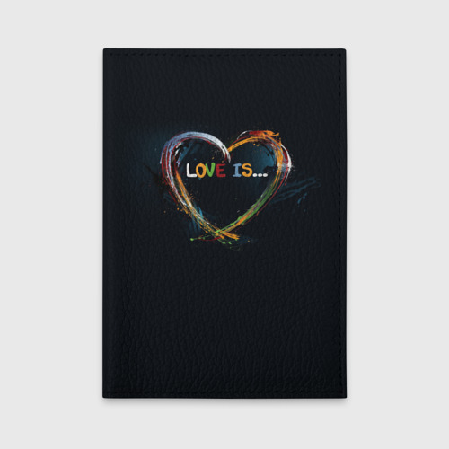 Обложка для автодокументов  Фото 01, Love is...