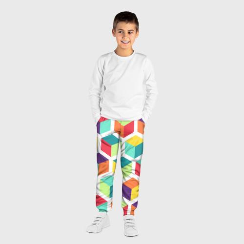 Детские брюки 3D Кубы Фото 01
