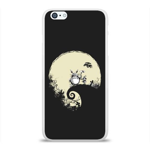 Чехол для Apple iPhone 6Plus/6SPlus силиконовый глянцевый  Фото 01, Totoro