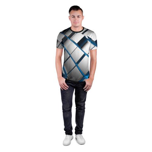 Мужская футболка 3D спортивная  Фото 04, Текстура