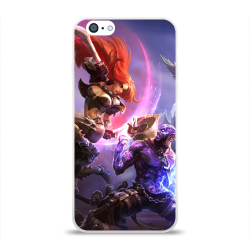 Чехол для Apple iPhone 6 силиконовый глянцевый  Фото 01, League of legends