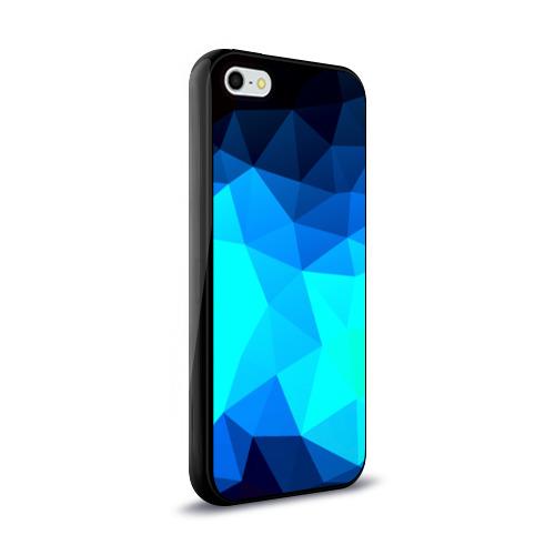 Чехол для Apple iPhone 5/5S силиконовый глянцевый Pilygon Фото 01