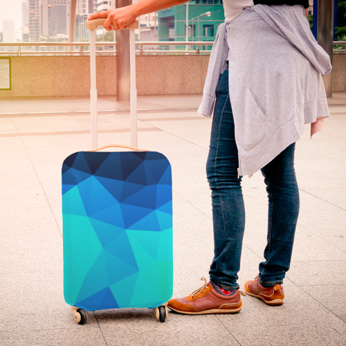 Чехол для чемодана 3D Pilygon Фото 01