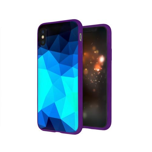 Чехол для Apple iPhone X силиконовый глянцевый Pilygon Фото 01