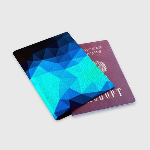 Обложка для паспорта матовая кожа Pilygon Фото 01