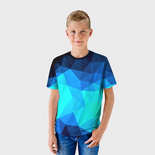 Детская футболка 3D Polygon