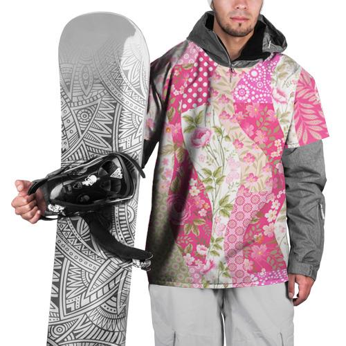 Накидка на куртку 3D  Фото 01, Узор на ткани