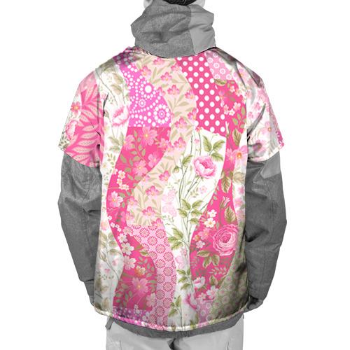 Накидка на куртку 3D  Фото 02, Узор на ткани