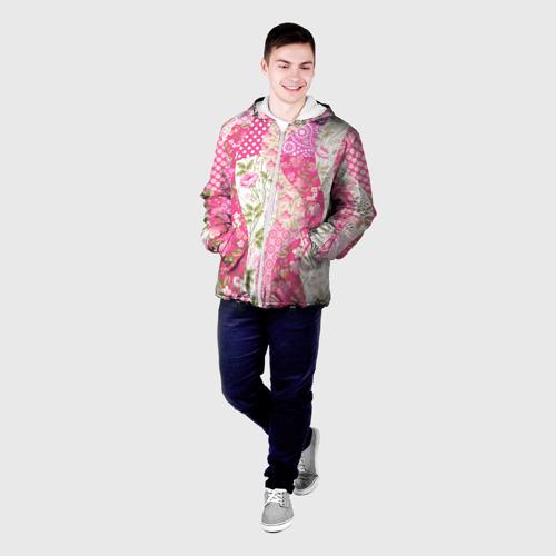 Мужская куртка 3D  Фото 03, Узор на ткани